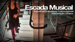 Escada Musical Sesc Santo Amaro